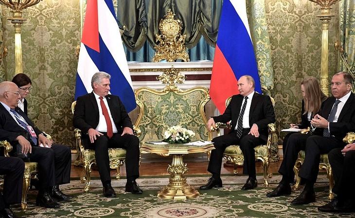 รัสเซียและคิวบายืนยันความสัมพันธ์พันธมิตรยุทธศาสตร์ - ảnh 1