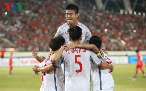 AFF Suzuki Cup 2018: เวียดนามชนะทีมลาว 3-0 การเริ่มต้นที่น่ายินดี - ảnh 1