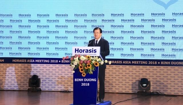 ฟอรั่มความร่วมมือเศรษฐกิจเอเชีย – Horasis 2018 ณ จังหวัดบิ่งเยือง - ảnh 1