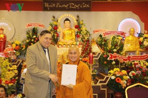 เปิดศูนย์วัฒนธรรมพุทธศาสนาของชาวเวียดนามในประเทศสาธารณรัฐเช็ก - ảnh 1