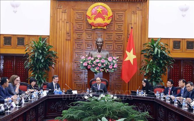 นายกรัฐมนตรีเหงียนซวนฟุ๊กให้การต้อนรับคณะผู้แทนสภาประกอบธุรกิจสหรัฐ – อาเซียน - ảnh 1