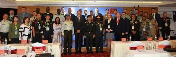 การฝึกอบรมของสหประชาชาติเกี่ยวกับการวางแผนแห่งชาติสำหรับเจ้าหน้าที่ทหารและตำรวจระดับสูง - ảnh 1