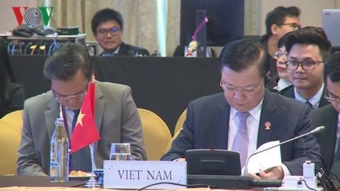 เปิดการประชุมรัฐมนตรีการคลังอาเซียน ณ ประเทศไทย - ảnh 1