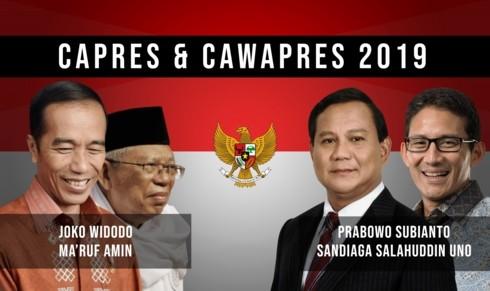 ผู้สมัครตัวเต็งเร่งหาเสียงก่อนการเลือกตั้งประธานาธิบดีอินโดนีเซีย - ảnh 1