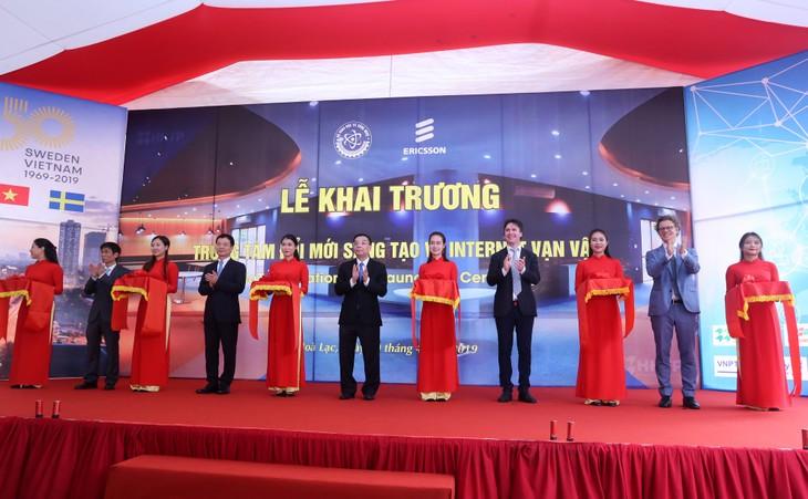 เปิดศูนย์พัฒนาความคิดสร้างสรรค์ IoT แห่งแรกในเวียดนาม - ảnh 1