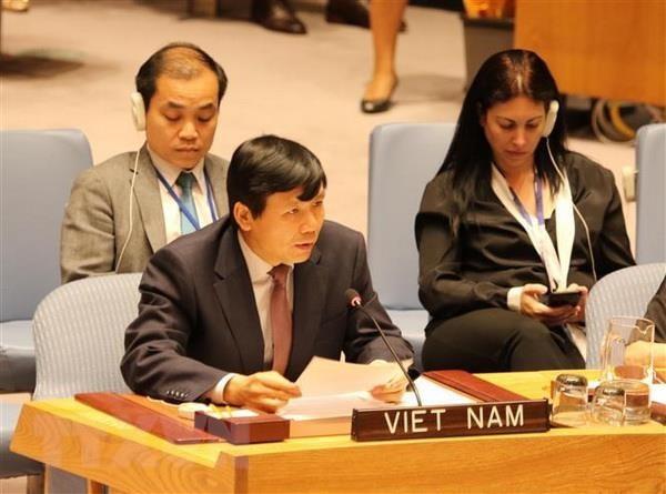 เวียดนามสนับสนุนการยับยั้งและยุติการใช้ความรุนแรงทางเพศในการปะทะ - ảnh 1