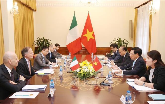 เวียดนามและอิตาลีปฏิบัติแผนหุ้นส่วนยุทธศาสตร์ระยะปี 2019-2020 - ảnh 1