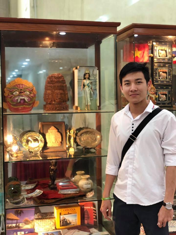 คุณ เงือน เมงเฮียง นักศึกษากัมพูชาดีเด่นที่กำลังศึกษาในประเทศเวียดนาม - ảnh 1