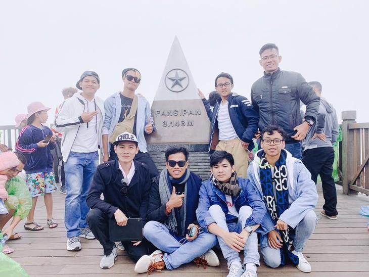 คุณ เงือน เมงเฮียง นักศึกษากัมพูชาดีเด่นที่กำลังศึกษาในประเทศเวียดนาม - ảnh 2