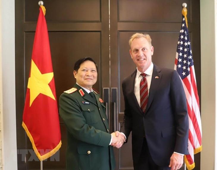 รัฐมนตรีกลาโหมเวียดนามเรียกร้องให้ยับยั้งการปะทะในด้านที่มีการพิพาท ณ การสนทนาแชงกรีลา - ảnh 2