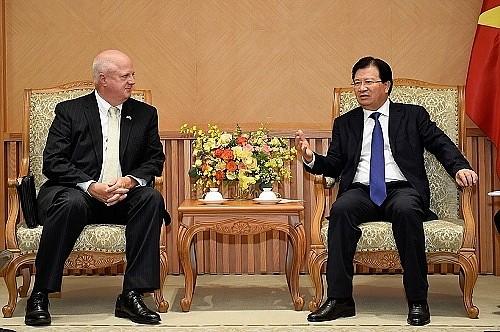 สถานประกอบการสหรัฐชื่นชมการช่วยเหลือของรัฐบาลเวียดนาม - ảnh 1