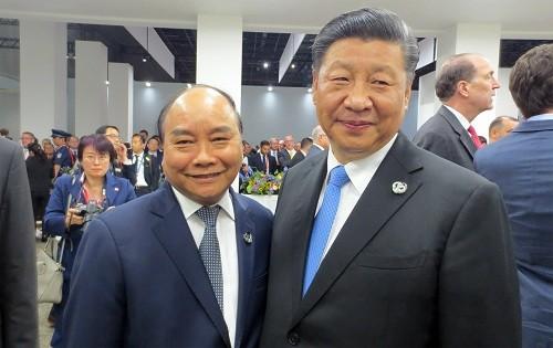 ກອງປະຊຸມສຸດຍອດ G20: ທ່ານນາຍົກລັດຖະມົນຕີຫວຽດນາມ ຫງວຽນຊວັນຟຸກ ພົບປະສອງຝ່າຍກັບບັນດາການນໍາໂລກ - ảnh 1