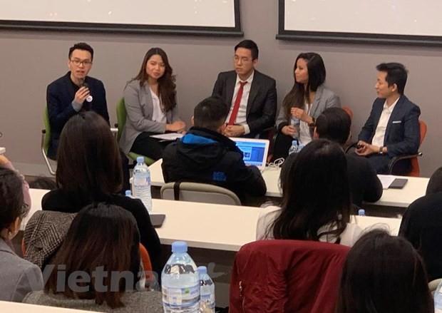นักศึกษาเวียดนามในออสเตรเลียกระตือรือร้นกับการประกวดความคิดริเริ่มสำหรับธุรกิจสตาร์ทอัพ - ảnh 1