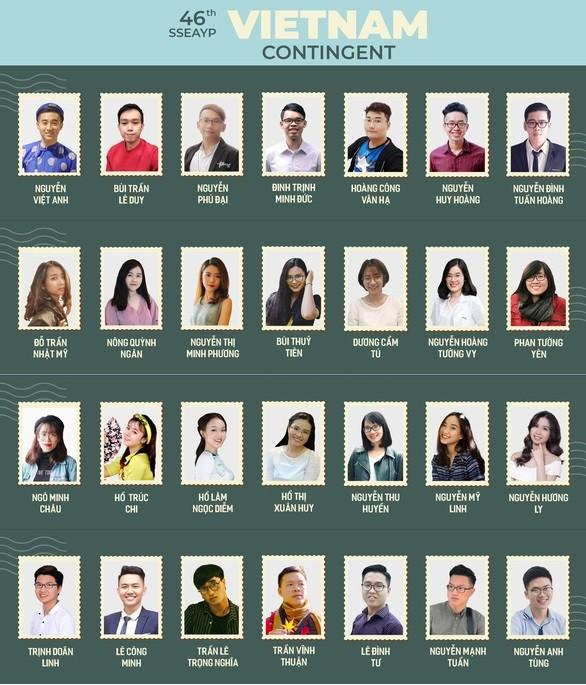 คณะผู้แทนเยาวชนเวียดนามจะเข้าร่วมเรือเยาวชนเอเชียอาคเนย์ SSEAYP 2019 - ảnh 1