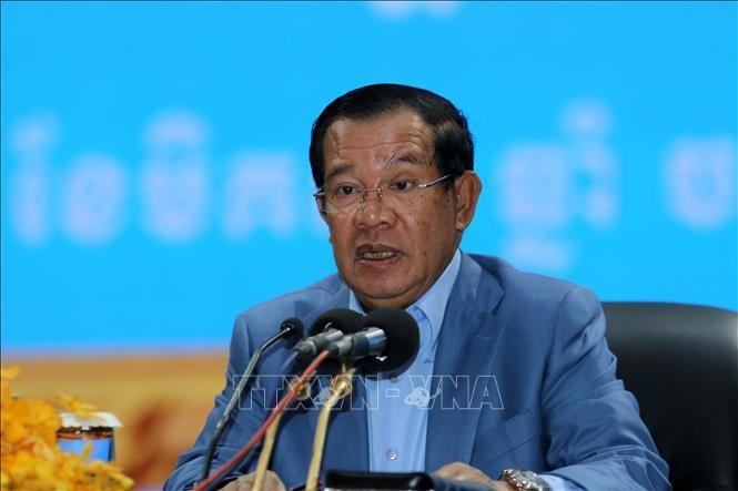นายกรัฐมนตรีกัมพูชาเรียกร้องให้ร่วมกันต่อต้านการก่อการร้าย - ảnh 1