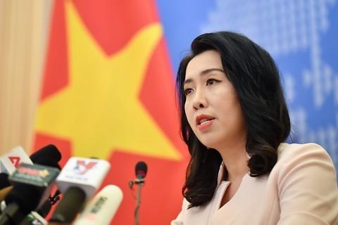 โฆษกกระทรวงการต่างประเทศเวียดนามเรียกร้องให้จีนถอนเรือสำรวจไหหยาง 8 และเรือคุ้มกันออกจากเขตทะเลของเวียดนาม - ảnh 1