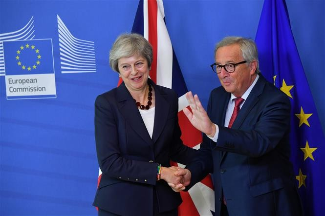 British PM seeks breakthroughs in Brexit deal - ảnh 1