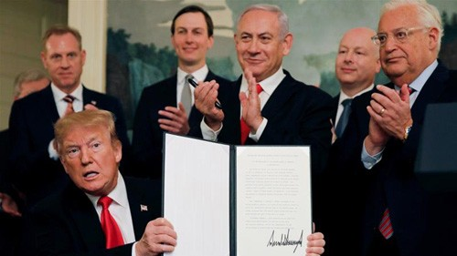 World condemns US decision on Golan Heights - ảnh 1