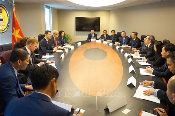 Party delegation visits US to seek stronger partnership - ảnh 1
