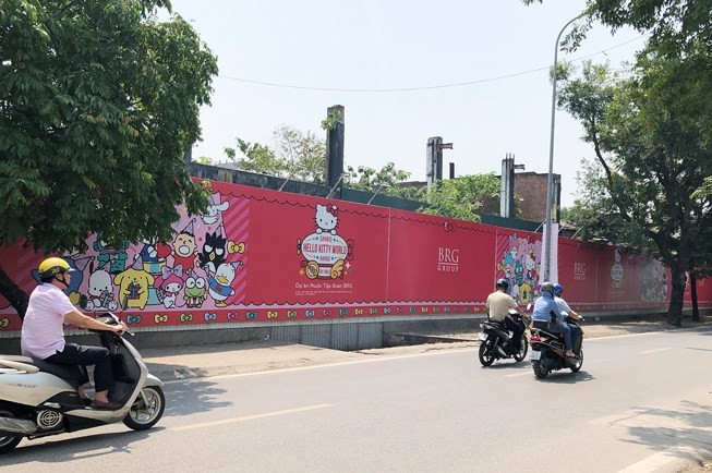 Sanrio Hello Kitty World Hanoi project kicks off  - ảnh 1
