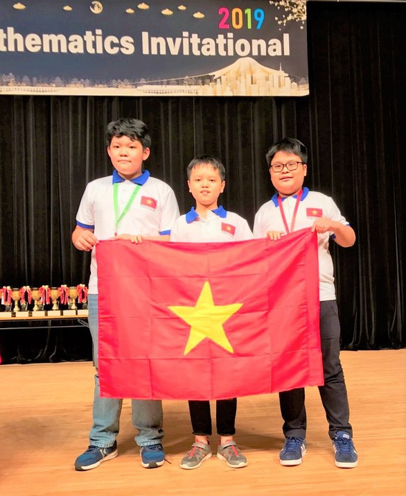 All Vietnamese students win prizes at Japan maths contest - ảnh 1