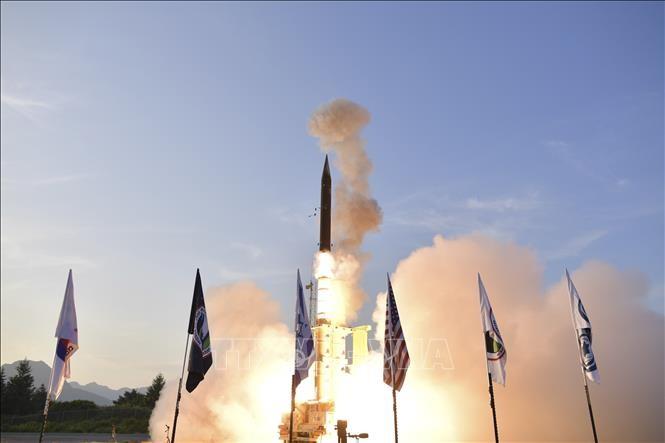 Israel tests missile defense system - ảnh 1
