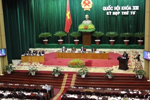 Quốc hội khóa 13 tiến hành họp phiên bế mạc - ảnh 1