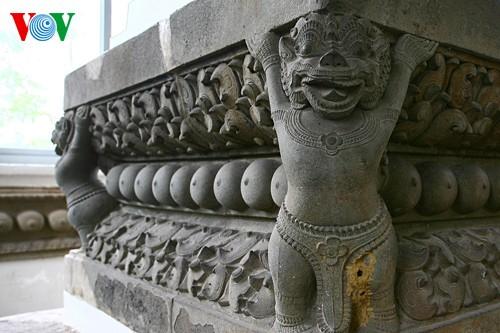 Khám phá Bảo tàng điêu khắc Chăm độc đáo giữa Đà Nẵng - ảnh 17