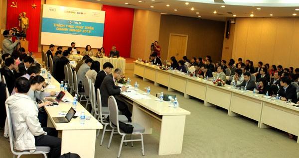 Hội thảo: Thách thức phát triển doanh nghiệp 2015 - ảnh 1