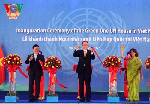 Khánh thành Ngôi nhà xanh Liên hợp quốc tại Việt Nam - ảnh 1