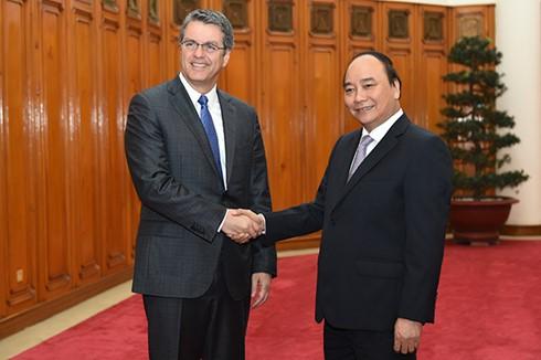 Tổng Giám đốc WTO Roberto Azevedo khẳng định sẽ luôn ủng hộ Việt Nam trong tiến trình hội nhập  - ảnh 1