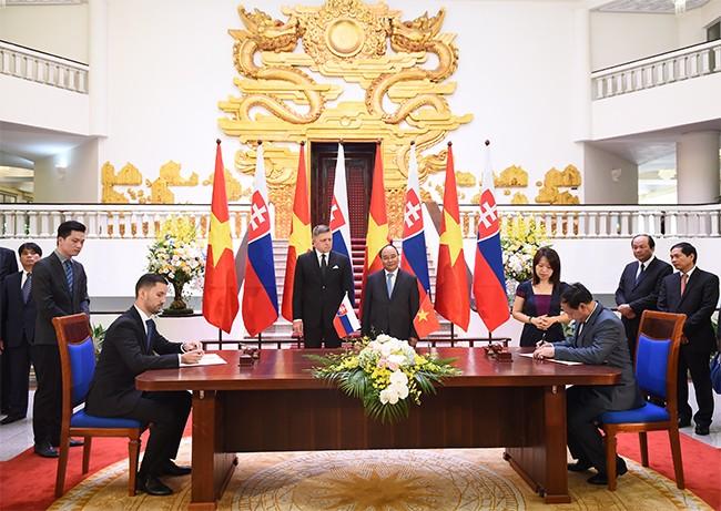 Việt Nam và Slovakia thúc đẩy hợp tác song phương - ảnh 1