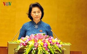 Bà Nguyễn Thị Kim Ngân được giới thiệu bầu giữ chức Chủ tịch Quốc hội khóa XIV - ảnh 1