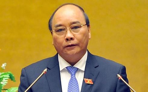 Ông Nguyễn Xuân Phúc được Chủ tịch nước giới thiệu bầu là Thủ tướng Chính phủ nhiệm kỳ 2016-2021 - ảnh 1