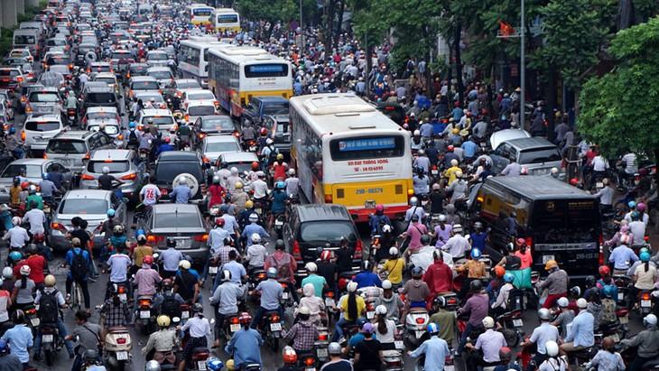 Giải pháp đảm bảo giao thông ở Hà Nội - ảnh 1