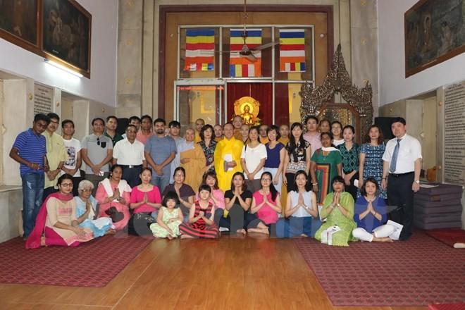 Cộng đồng người Việt tại Ấn Độ mừng đại lễ Phật Đản 2017  - ảnh 1