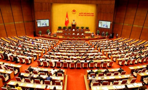 Khai mạc kỳ họp thứ 3 Quốc hội khóa XIV - ảnh 1
