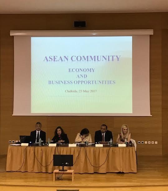 """Hội thảo """"Cộng đồng ASEAN: Cơ hội Hợp tác và đầu tư"""" tại Hy Lạp - ảnh 1"""
