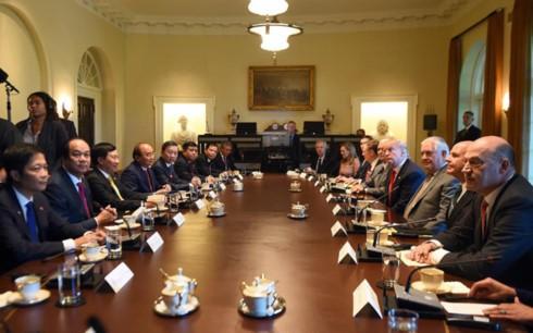 Tạo đà cho quan hệ Việt – Mỹ phát triển tốt đẹp - ảnh 1