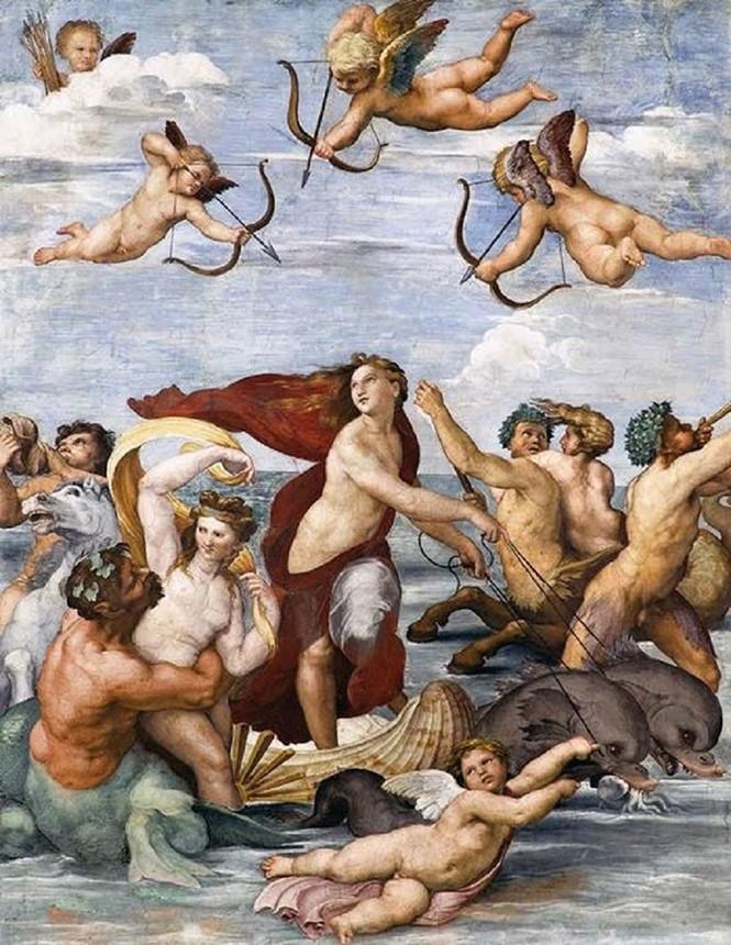 Triển lãm 34 tác phẩm nghệ thuật của danh họa Raffaello tại Hà Nội  - ảnh 1