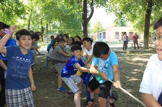 Hội người Việt Nam tại Odessa tổ chức Trại hè