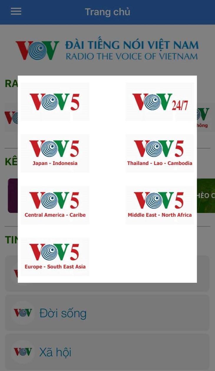 Dễ dàng nghe, xem vovworld.vn trên smartphone - ảnh 1