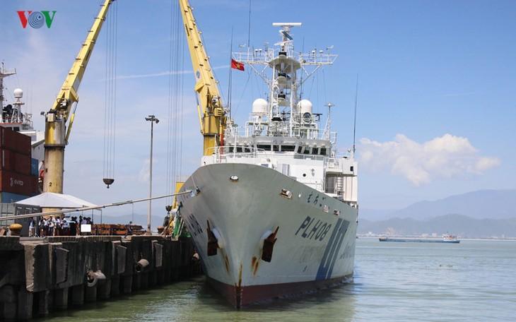 Tàu tuần tra của Nhật Bản lần đầu đến Đà Nẵng - ảnh 1
