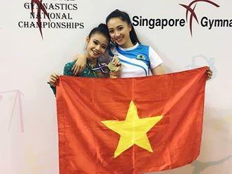Việt Nam có huy chương vàng ở giải thể dục nghệ thuật trẻ Đông Nam Á - ảnh 1