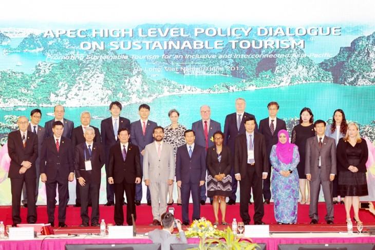 Thông qua tuyên bố về du lịch bền vững - ảnh 1