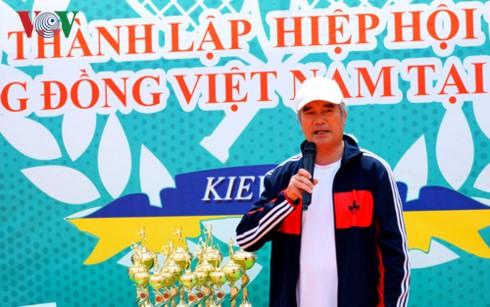 Giải tennis hữu nghị của cộng đồng Việt Nam tại Ukraine - ảnh 2