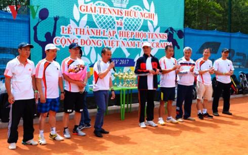 Giải tennis hữu nghị của cộng đồng Việt Nam tại Ukraine - ảnh 1