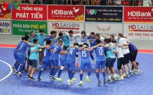 Thái Sơn Nam lên ngôi vô địch giải Futsal HDBank sớm 1 vòng đấu - ảnh 1