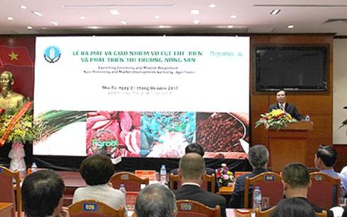 Thành lập Cục chế biến và Phát triển thị trường nông sản - ảnh 1
