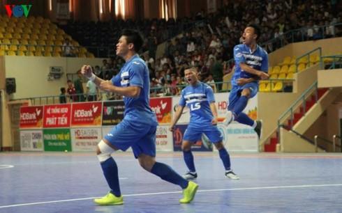 Thái Sơn Nam lên ngôi vô địch giải Futsal HDBank sớm 1 vòng đấu - ảnh 3